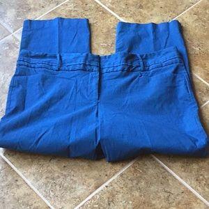 Medium blue ankle pants!